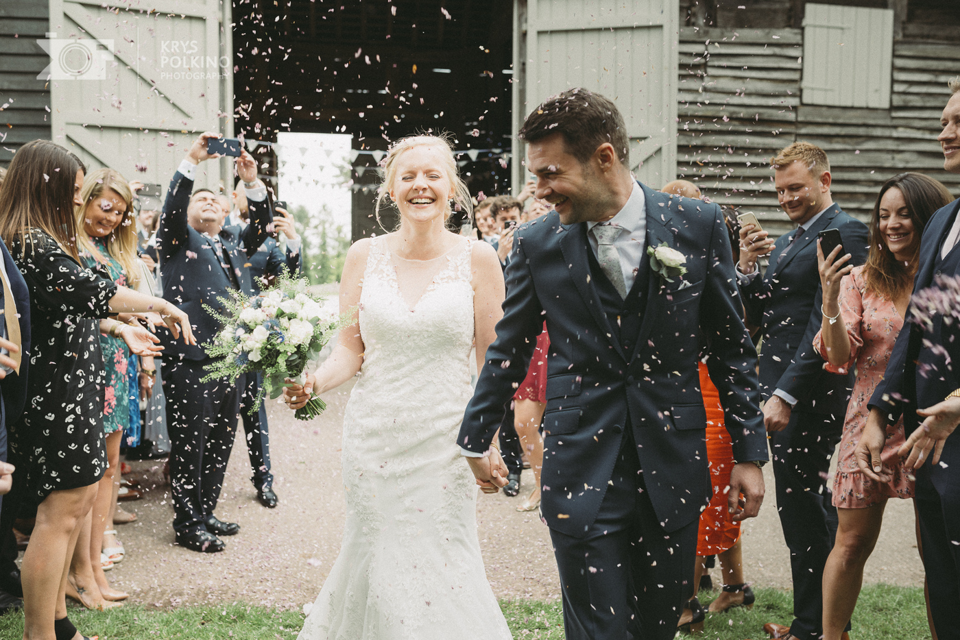 Rebecca &  James - Lovely Wedding at Pimhill Barn at Lea Hall