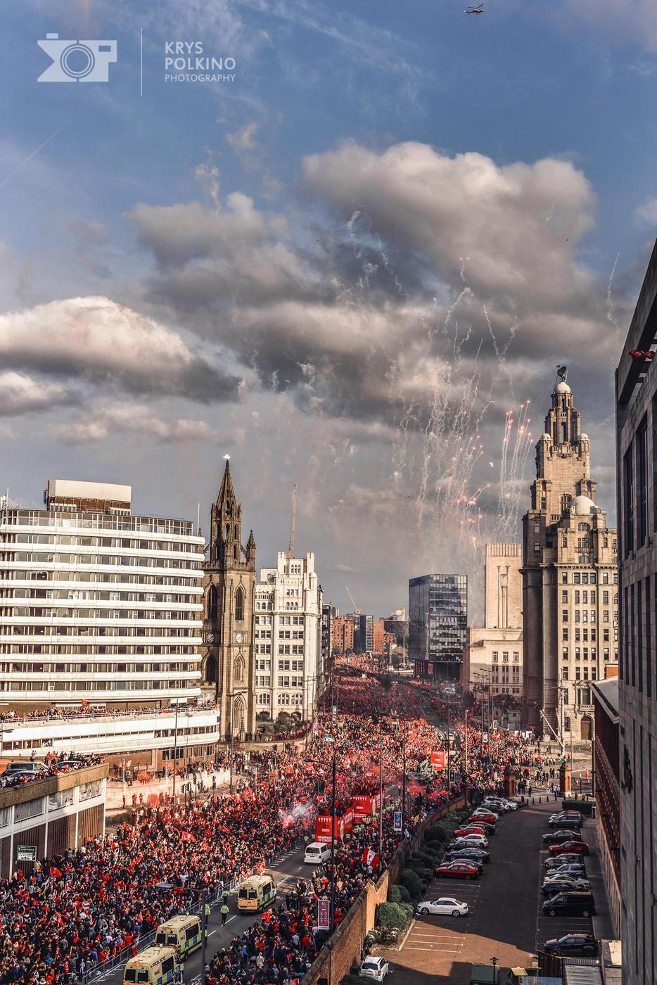 My Liverpool Champions Legue 2019 parade.