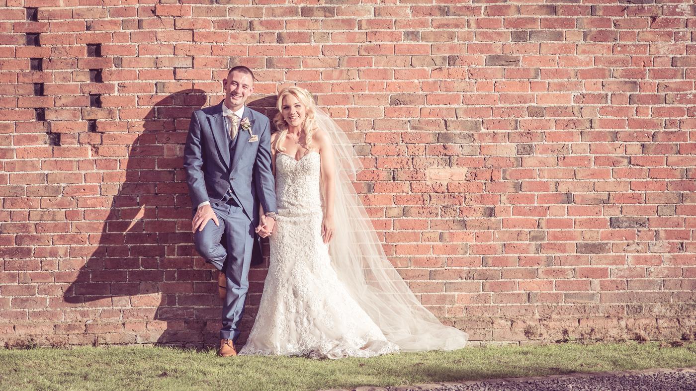 Mr & Mrs Money got married Sunday 2nd July at Shustoke Farm Barns